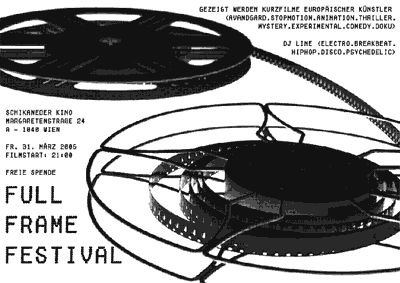 Full Frame Festival 2006 Flyer